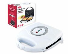 Sandwich Maker Toaster Toastie Maker Panini Press Health Grill Griddle WHITE NEW