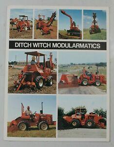 circa 1976 Ditch Witch modularmatics trenchers