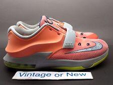Nike KD VII 7 Bright Mango 35K Degrees GS Kevin Durant sz 6.5Y