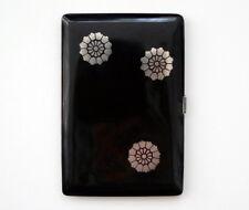 Art Deco  Zigarettenetui  Silber 162 Gr.  France   silver cigarette case box