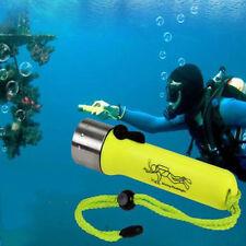 6000LM T6 LED Scuba Diving Flashlight Torch Underwater 50M Waterproof LWY