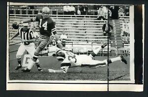 Craig Morton & Jack Pardee 1970 Press Photo Dallas Cowboys Los Angeles Rams