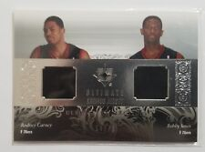 2006-07 Ultimate Collection Combo's Rodney Carney & Bobby Jones Rookie Jersey's