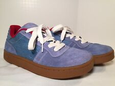 2e0a6ba1557a02 IPATH Blue Suede Shoes Mens Skate Sneakers Size 7.5