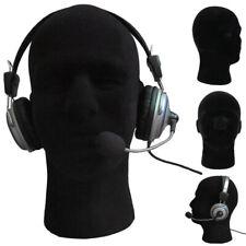 11 Male Styrofoam Foam Mannequin Manikin Head Wig Hat Head Set Glasses Display