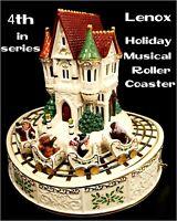 LENOX FOR THE HOLIDAY'S CHRISTMAS MUSICAL ROLLER COASTER W/ORIGINAL BOX