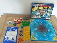 Waddingtons Escape From Atlantis Game Board Game - 1986 - Complete