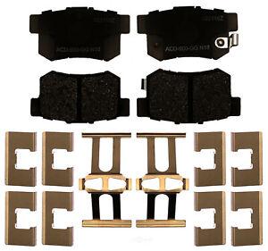 Disc Brake Pad Set-Ceramic Disc Brake Pad Rear ACDelco Advantage 14D536CHF1