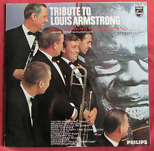 DUTCH SWING COLLEGE  LP HOLLANDE ORIG  TRIBUTE TO LOUIS ARMSTRONG