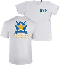 Pi Kappa Phi Fraternity Bella + Canvas Shirt Star Shield PKP - MANY COLORS