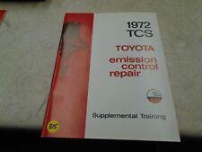 Toyota TCS Emission Control Repair Manual VP 1972 VP-CM315
