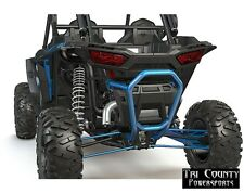 Pure Polaris Bull Bumper Rear RZR Turbo RZR1000 RZR1000 4 2014-18 Velocity Blue
