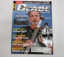 Blade Magazine Sword Of Maximus September 2002 111416R