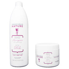 Alfaparf Precious Nature Curly & Wavy Shampoo 1000 ml + Maschera 500 ml / Ricci