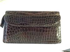 Vintage Ralph Lauren Crocodile Small Unisex Clutch Purse Or Men's Cigar Holder
