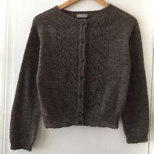 Margaret Howell Brown Wool Cardigan Size 12