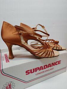 """Supadance 1067 2.5"""" Dark Tan Women Latin Rhythm Salsa Dance Shoes 3 UK (5.5 US)"""