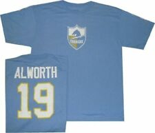 San Diego Chargers Lance Alworth Reebok Throwback Pro Style Oversized T Shirt