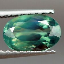 0.94 ct NATURAL BLUISH GREEN ALEXANDRITE TOP QUALITY COLOR CHANGE