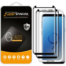 2x Full Cover Tempered Glass Screen Protector for Samsung Galaxy S9 Plus