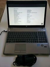 HP ProBook 4540s Core i3-2370M 2.40GHz 4GB RAM 0GB HDD BOOT TO  BIOS