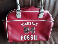 Fossil 54 Kingston Handtasche Tasche Bowling Bag Damen *Rot*