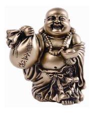 Small Happy Laughing Ho Tai Buddha Prosperity Money Wealth Statue Figurine