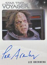 Star Trek Voyager Heroes & Villains Lee Arenberg Autograph Card