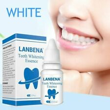 1x LANBENA Teeth Whitening Essence Oral Hygiene Serum Plaque Stains Remove