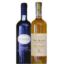 Samos und Mavrodaphne Süßwein 2x 750ml griechischer Likörwein Dessertwein