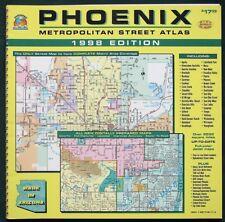 PHOENIX Arizona Metropolitan Street Atlas 1998 Edition
