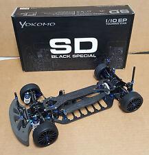 Yokomo 1/10 Scale MR4 TC SD Black Special RC w/ Parts Lot Rayspeed Team Suzuki