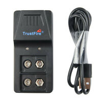 Li-ion Lithium Rechargeable 9V Rechargeable Battery Charger
