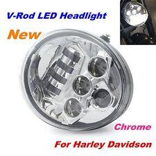 Chrome Hi/Lo LED Headlight Daymaker Harley V Rod V-rod VROD VRSC VRSCA VRSCDX