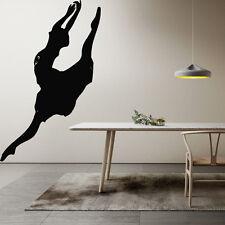 Wall Room Decor Art Vinyl Sticker Mural Decal Ballet Dance Women Ballerina FI382