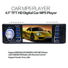 4.1 Inch Bluetooth 1 DIN Car In-Dash Stereo Audio Receiver MP5 Radio Player Set