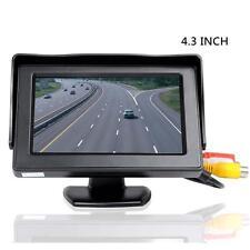 """4.3 """"TFT LCD arrière de voiture Voir Casque Ecran Pour Car inversion GPS Cam EH"""