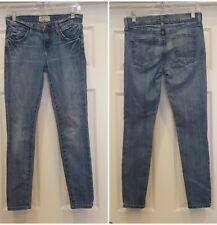 Current Elliott woman size 25 The Stiletto guthery wash jeans Juniors