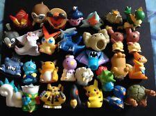 30 X Bandai Finger Puppet Pokemon Figures Dialga Palkia Pikachu Victini RARE
