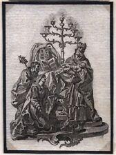 Jesucristo en el templo muy antiguo andachtsbild santos imagen (o-7299