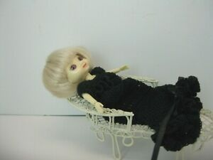 Doll Clothes Amelia Thimble black dress