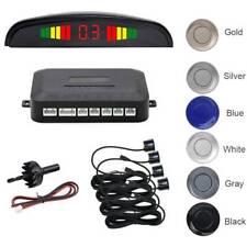 Car Reverse 4Parking Sensor Backup Rear Radar LED Display Audio Buzzer Alarm Kit