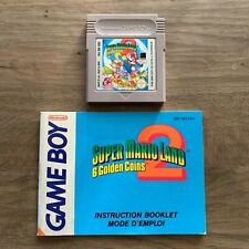 Super Mario Land 2 - Cart & Manual - Gameboy - FREE Combined Shipping
