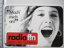 Aufkleber Sticker Radio FFN (3835)