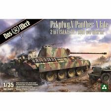 Das Werk DW35011 Panther Ausf.A (late) 1:35 Plastic Model Tank Kit