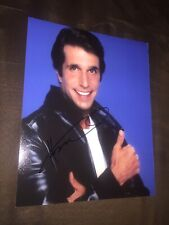 Henry Winkler SIGNED 8 X 10 Photo Autographed
