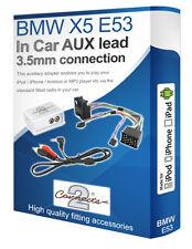 BMW X5 E53 haut-parleur câble, iPod iPhone MP3 lecteur, BMW auxiliaire