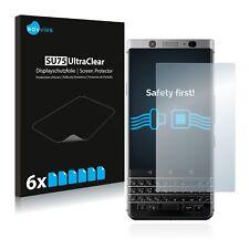 6x Displayschutzfolie für BlackBerry Keyone Schutzfolie Klar Folie Displayfolie