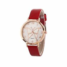 Cute Rose Gold Butterfly Watch Love RED Time UV Present Gift Free UK Warranty