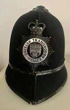 Police British Transport Railroad Police Vintage and Obsolete Cork Helmet 1960's
